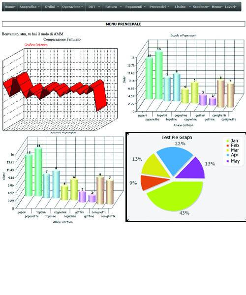 programma per monitoraggio franchising a multi livelli di accessi